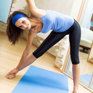 8-минутна тонизираща тренировка за гъвкавост и енергия