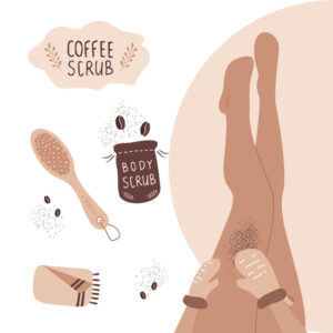 Домашен скраб с кафе против целулит