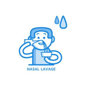 Промивките на носа може да предотвратят хоспитализации с COVID